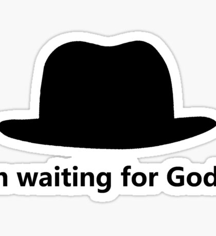 Waiting for Godot Sticker