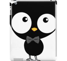 owl with bow tie iPad Case/Skin