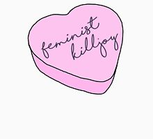 """Feminist Killjoy"" Candy Heart Womens Fitted T-Shirt"