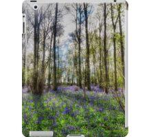 Bluebell Wood iPad Case/Skin