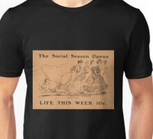 Artist Posters The social season opens life this week 10 cents 0542 Unisex T-Shirt