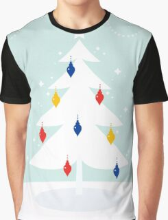 Christmas Tree with green and red decoration Graphic T-Shirt