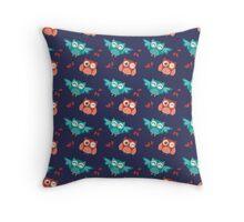 Owl pattern Throw Pillow