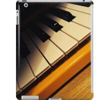 Yellow Keyboard iPad Case/Skin