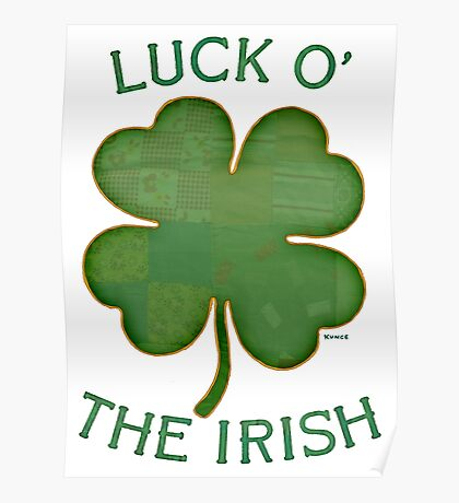 Luck 'O The Irish Poster