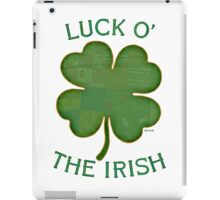 Luck 'O The Irish iPad Case/Skin