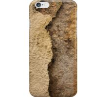 Flaky wall texture. Background. iPhone Case/Skin