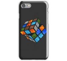 Elemental Rubik's Cube iPhone Case/Skin