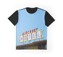 the Aircrest Motel Graphic T-Shirt