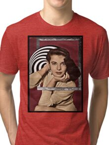 Coming Out of Her Frame Tri-blend T-Shirt