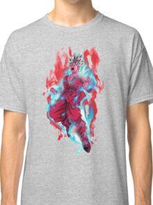 Goku God Blue Kaioken x10 Classic T-Shirt