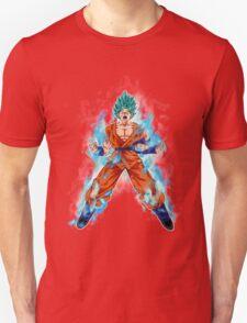Goku God Blue Kaioken T-Shirt