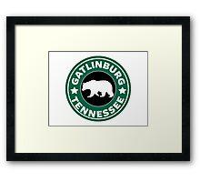 GATLINBURG TENNESSEE BEAR SMOKIES SMOKEY MOUNTAINS  Framed Print