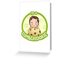 Cumbercookie Greeting Card