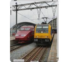 Dutch international trains iPad Case/Skin