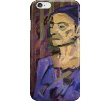 Blue Woman iPhone Case/Skin