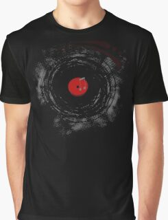Vinyl Records Retro Grunge Graphic T-Shirt
