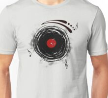 Vinyl Records Retro Grunge Unisex T-Shirt