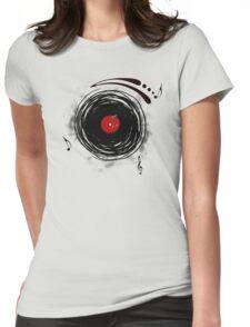 Vinyl Records Retro Grunge T-Shirt