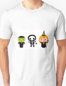 Happy Kids in Halloween Costumes Unisex T-Shirt