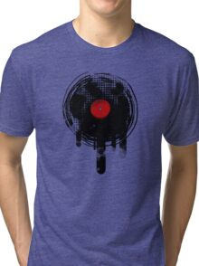 Melting Vinyl Records Vintage Tri-blend T-Shirt
