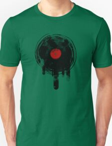 Melting Vinyl Records Vintage Unisex T-Shirt