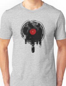 Melting Vinyl Records Vintage Unisex T-Shirt