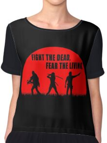 The walking dead - Rick - Daryl - Michonne Chiffon Top