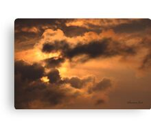 Ancient Dragon in the Sky ~ Clouds Canvas Print