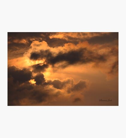 Ancient Dragon in the Sky ~ Clouds Photographic Print