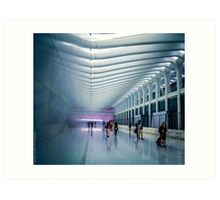 Station In NYC Art Print