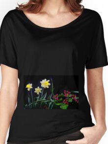 Daffodil and Trillium Women's Relaxed Fit T-Shirt
