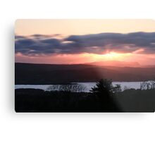 Sunset over North Donegal Metal Print
