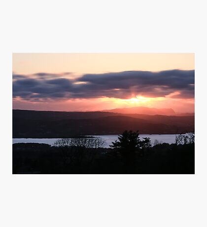Sunset over North Donegal Photographic Print