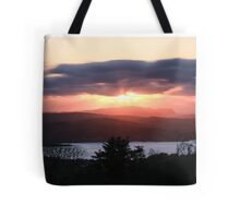 Sunset over North Donegal Tote Bag