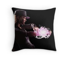 Sonya Blade Mortal Kombat Throw Pillow