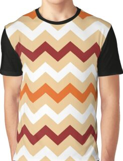 Colorful Chevron pattern for Thanksgiving day Graphic T-Shirt