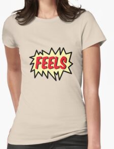 FEELS Womens Fitted T-Shirt