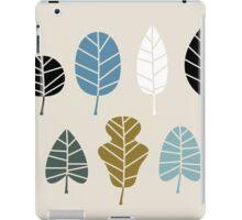 Autumn leaves silhouettes Vector Illustration iPad Case/Skin