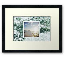 Point Break Framed Print