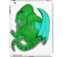 Sleeping Dragon (Green) iPad Case/Skin