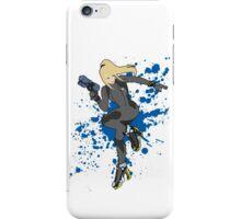 Zero Suit Samus (Black Alt.) - Super Smash Bros iPhone Case/Skin