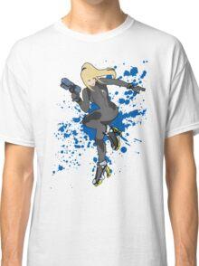 Zero Suit Samus (Black Alt.) - Super Smash Bros Classic T-Shirt