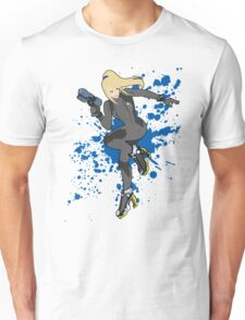Zero Suit Samus (Black Alt.) - Super Smash Bros Unisex T-Shirt
