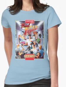 Final Fight T-Shirt Womens Fitted T-Shirt