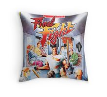 Final Fight T-Shirt Throw Pillow