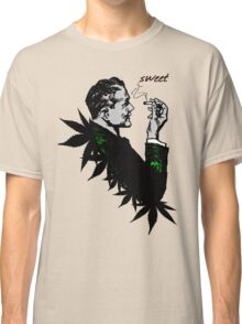 Politics and Weed - Sweet - Politician Smoking Weed Pot Marijuana Hemp T Shirts Stickers and Art Classic T-Shirt