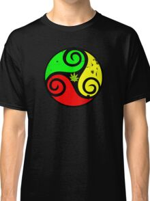 Reggae Love Vibes - Cool Weed Pot Reggae Rasta - Pouch T-Shirts and more Classic T-Shirt