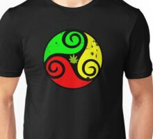 Reggae Love Vibes - Cool Weed Pot Reggae Rasta - Pouch T-Shirts and more Unisex T-Shirt