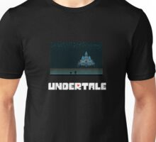 Frisk and Monster Kid in Waterfall Undertale Unisex T-Shirt